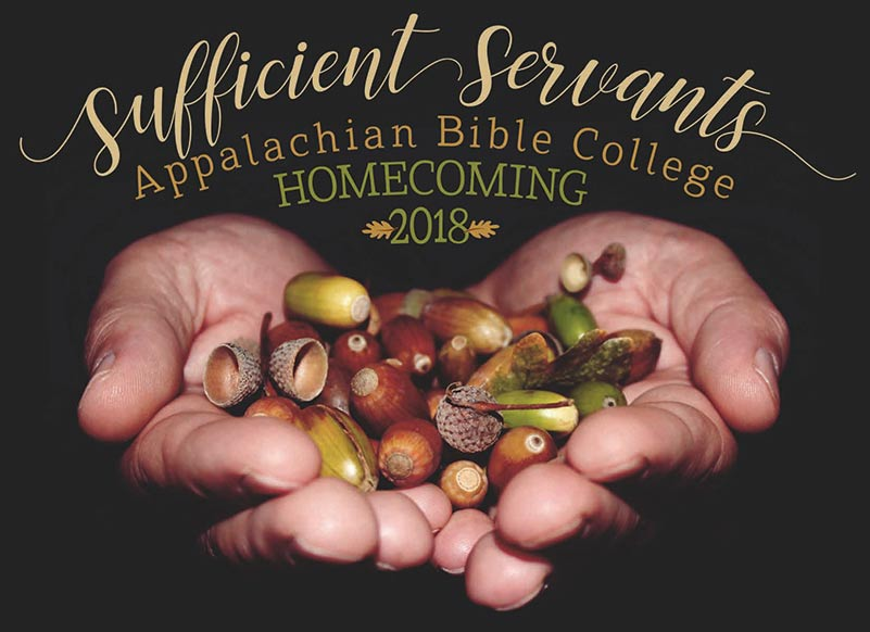 2018 Alumni Homecoming: Sufficient Servants